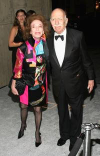 Helen Gurley Brown and David Brown at the Whitney Gala 2004.