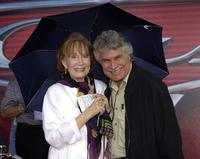 Katherine Helmond and Mario Andretti at the world premiere screening of