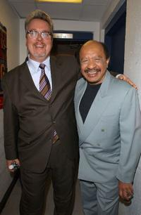 Larry Jones and Sherman Hemsley at the MTV Networks Upfront 2003 Presentation.