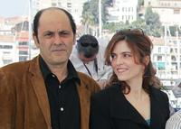 Jean-Pierre Bacri and Agnes Jaoui at the photocall of