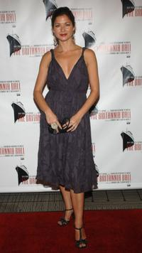 Jill Hennessy at the Britannia Ball.