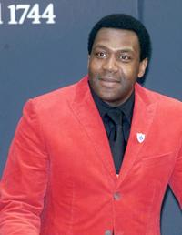 Lenny Henry at the Robbie Williams memorabilia Auction for comic relief and