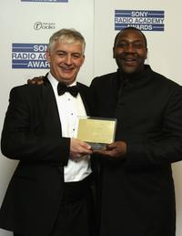 Roger Wright and Lenny Henry at the Sony Radio Academy Awards 2006.