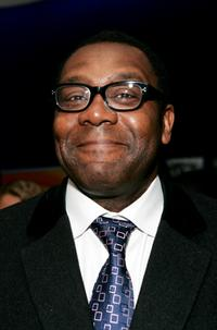 Lenny Henry at the UK launch of Black Entertainment Television (BET).