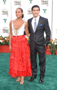 Tania Ramirez and Rick Gonzalez at the 2007 Billboard Latin Music Awards.