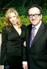 Diana Krall and Elvis Costello at the Annual Max Awards Pre-Oscar party.