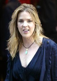 Diana Krall at the Canadian Walk of Fame.