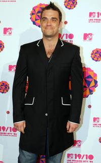 Robbie Williams at the MTV Latin America 2006 Music Awards.