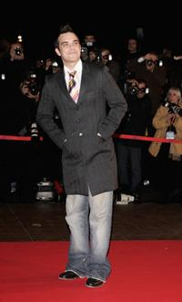Robbie Williams at the 2006 NRJ Music Awards.