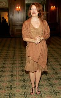 Victoria Clark at the Drama League's salute to Betty Comden and Adolph Green.
