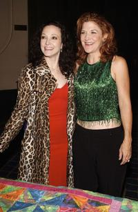 Bebe Neuwirth and Victoria Clark at the Broadway's Celebrity Benefit for Hurricane Relief.