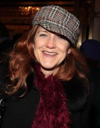 Victoria Clark at the Broadway opening night of