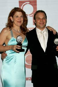 Victoria Clark and Norbert Leo Butz at the 59th Annual Tony Awards.