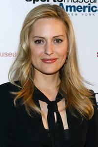 Aimee Mullins at the opening night of