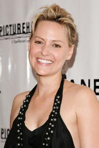 Aimee Mullins at the screening of