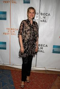 Aimee Mullins at the premiere of