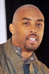 Montell Jordan at the Dove Awards Press Conference in Georgia.