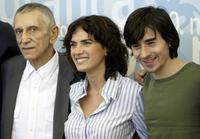 Roberto Herlitzka, Maya Sansa and Luigi lo Cascio at the photocall of