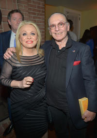Jacki Weaver and Paul Herman at the 2013 Vanity Fair Campaign Hollywood in California.
