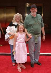 Edward Herrmann and his family at the Premiere of Harry Potter And The Prisoner of Azkaban at Radio City Music Hall.