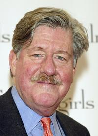 Edward Herrmann at the WB Networks' 'Gilmore Girls' 100th episode party at the Space in Santa Monica, California.
