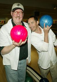 Edward Herrmann and Tom Cavanaugh at the 17th Annual Second Stage All-Star Bowling Classic in New York City.