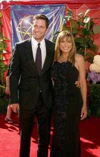 Peter Hermann and Mariska Hargitay at the 58th Annual Primetime Emmy Awards.