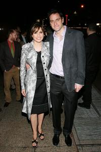 Mariska Hargitay and Peter Hermann at the opening night of