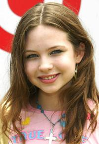 Daveigh Chase at the Elizabeth Glaser Pediatric Aids Foundation event.