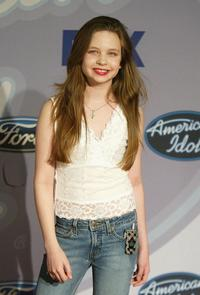 Daveigh Chase at the Fox's celebration of American Idols Top 12 finalists.