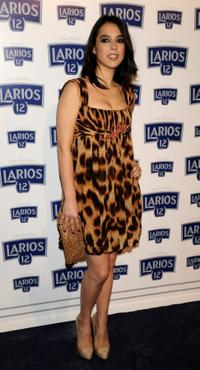 Cristina Brondo at the Larios Fashion Calendar Launch party.