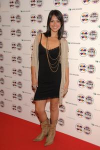 Cristina Brondo at the MTV Europe Music Awards party.