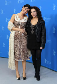Nataly Attiya and Clara Khoury at the photocall of