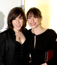Sally Hawkins and Caroline Martin at the UK premiere of