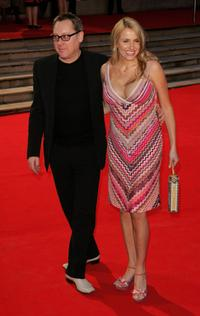 Vic Reeves and Nancy Sorrell at the Brit Awards 2006.