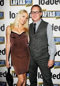 Nancy Sorrell and Vic Reeves at the Loaded LAFTAS with Nivea for Men 2007.