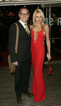 Vic Reeves and Nancy Sorrell at the UK premiere of