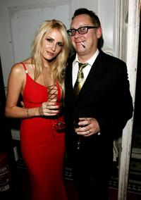 Nancy and Vic Reeves at the after party of the UK premiere of