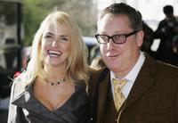 Nancy and Vic Reeves at the South Bank Show Awards.