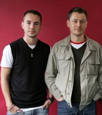 Martin Compston and director Steve Hudson at the Toronto International Film Festival.