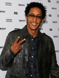 Andre Royo at the LAByrinth Theater Company's 5th Annual Celebrity Charades.