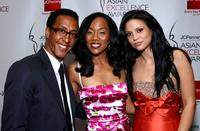 Andre Royo, Sonya Sohn and Navi Rawat at the 2008 JCPenney Asian Excellence Awards.