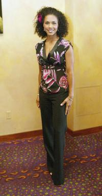 Cindy Herron at the 18th Annual Soul Train Music Awards 2004.