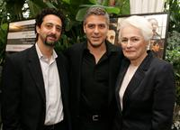 Grant Heslov, George Clooney and Picker Firstenberg at the AFI Awards Luncheon 2005.