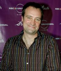 David Hewlett at the Sci-Fi Channel talent party.