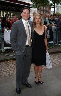 Tom Gallop and Guest at the UK premiere of