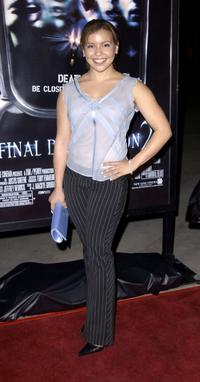 Justina Machado at the world premiere of