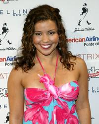Justina Machado at the