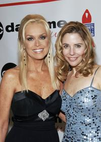 Catherine Hickland and Carrie Butley at the after party of the ABC Daytime Salutes Broadway Cares/Equity Fights AIDS Benefit.