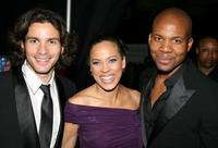 Santiago Cabrera, Tawny Cypress and Leonard Roberts at the 38th Annual NAACP Image Awards.